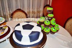 Pelota de Futbol Soccer Ball, Amazing Cakes, Desserts, Food, Google, Ideas, Pastries, Sweets, Tailgate Desserts