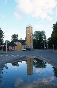 Kärdla is a main town on Hiiumaa Island that most likely  already existed in the 14th century, however, the oldest dated and preserved written artefact is from 1564. The name Kärdla comes from the Swedish language and means a swampy, wet valley, and was known better by names Kertil, Kärtellby, Kertel, etc. Before Kärdla became a city in 1938, it was quite famous as a factory settlement.