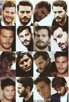Fifty shades of Jamie Dornan - Christian Grey - JD,DJ