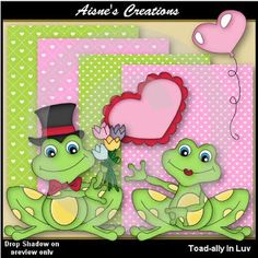 FREE clipart and digital papers for Valentines Day! Commercial use allowed!
