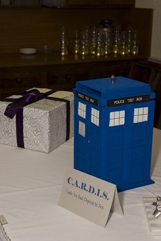 The CARDIS... I don't think I would have this at our wedding, but @Brandyn Mowers would love it. He's obsessed with Dr. Who.
