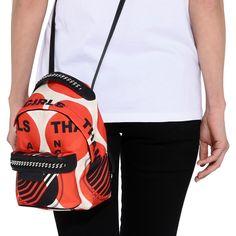 5153f8dc3d STELLA McCARTNEY Thanks Girls Print Falabella GO Mini Backpack Falabella  Backpacks D a Stella Mccartney