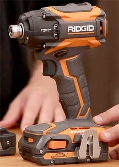 Ridgid Stealth F Ridgid Stealth Forec Brushless Pulse Driver Lumber Storage, Tool Storage, Cordless Drill Reviews, Tool Board, Electronic Workbench, Cordless Power Tools, Cool Electronics, Power Hand Tools, Shopping