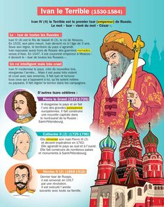 Fiche exposés : Ivan le Terrible French Class, French Lessons, French Teaching Resources, French Expressions, French Phrases, History Memes, Art History, French History, French Language