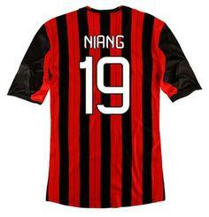Maillot de Foot AC Milan (19 Niang) Domicile 2013 2014 rouge noir Pas Cher http://www.korsel.net/maillot-de-foot-ac-milan-19-niang-domicile-2013-2014-rouge-noir-pas-cher-p-2913.html