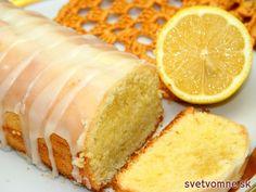 Slovak Recipes, Czech Recipes, Baking Recipes, Dessert Recipes, Food Porn, Vanilla Cake, Cheesecake, Muffin, Lemon