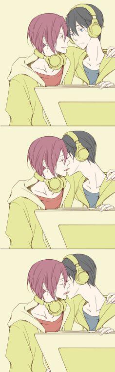 Tags: Anime, Matsuoka Rin, Nanase Haruka (Free!), Free!, Pixiv Id 471270