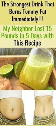 The Strongest Drink That Burns Tummy Fat Immediately!!! My Neighbor Lost 15 Pounds in 5 Days with This Recipe – Get Ideas