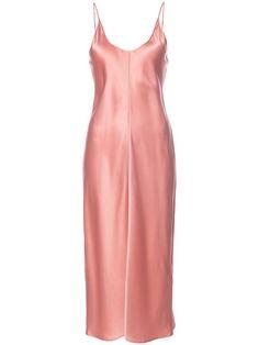 Shop T By Alexander Wang high shine shift dress .