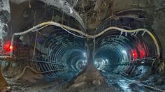Here's an impressive new look at the amazing tunnels and caverns of the East Side Access, an extension of the Long Island Rail Road