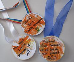 Father's Day Medals Eco-friendly Craft for Kids