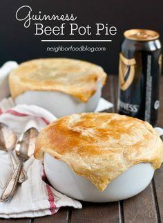Guinness Beef Pot Pie | NeighborFood