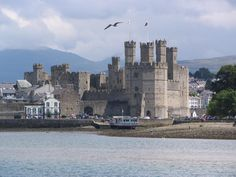 Caernarvon is architecturally one of the most impressive of all of the castles…