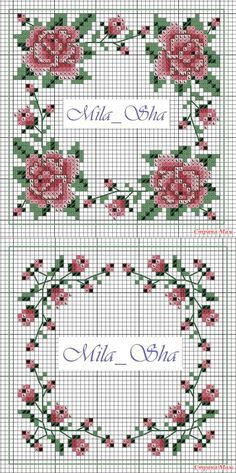 Biskornyu 'Розы' - Biskornyu y otros 'кривульки' - el País de las Mamás // елена антонова Biscornu Cross Stitch, Cross Stitch Borders, Cross Stitch Rose, Cross Stitch Flowers, Counted Cross Stitch Patterns, Cross Stitch Designs, Cross Stitching, Cross Stitch Embroidery, Hand Embroidery