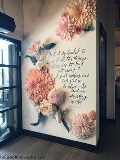 My trip to Magnolia Market at The Silos - House of Hepworths Magnolia Farms, Magnolia Market, Flower Wall, My Flower, Cactus Flower, Flower Shop Design, Flower Shop Decor, Flower Shop Interiors, St Just