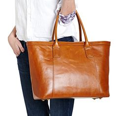 Safelake Genuine Leather Tan Color Lash Bag Women Tote Handbag Composite Shoulder Bag * You can get more details by clicking on the image.