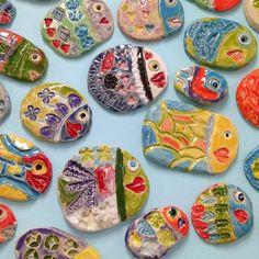Love elementary #artinstallation #artteachersofinstagram #WildcatsCreate #onlyoneyou #lindakranz #fish