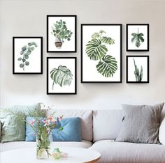 All we need, really, is a change from a near frigid to a tropical attitude of mind. Thus, get yourself this nordic tropical plant leaf watercolor painting today.     We offer free shipping and professional packaging on this product so you can receive it in its best quality. It is printed in thick canvas using bold ink to make it more realistic.