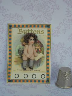 "all bisque Kestner googly doll....1.1/2"" high....brown hair"