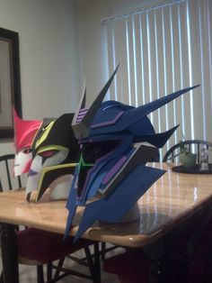 Helmhat TF Prime Soundwave by TheArtZR on Etsy, $100.00 - I want the Soundwave and Knockout one! =O