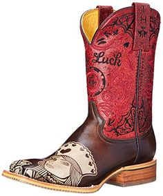 Tin Haul Shoes Womens Queen Of Hearts Western Boot