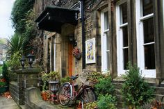 Encore! Life, | ♕ |  Rainy day in Haworth village, England  | by...