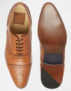 €35.29 - bought - Image 3 of ASOS Brogue Shoes in Leather