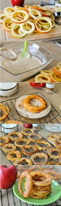 Apple Cinnamon Rings