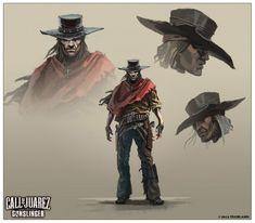 Call of Juarez: Gunslinger Concept Art by Wojciech Ostrycharz