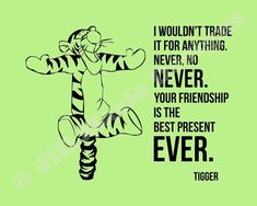 Friendship is Best Present - Tap to see more of Winnie the pooh quotes on life, love & frienship wallpapers! - @mobile9