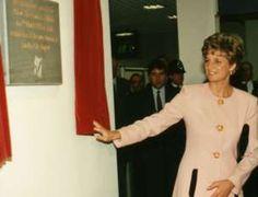 Princess Diana visit