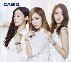 Three gorgeous women from the amazing group SNSD (Girl's Generation) *from left to right* Tiffany, Jessica (<3), and Yoona. <3