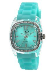 TKO watch My initials, my birthstone AND my favorite color! Azul Tiffany, Tiffany Blue, Green To Blue, Teal Blue, Shades Of Turquoise, Shades Of Blue, My Birthstone, Mint, Watches