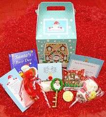 santa hamper for christmas eve kids christmas eve box contains everything a little one