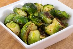 sweets: Dijon-Braised Brussels Sprouts | autumn | Pinterest | Brussels ...