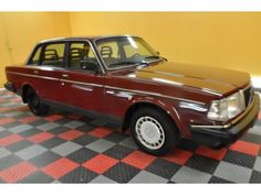 Volvo for the car seats My Dream Car, Dream Cars, The Longest Week, Volvo Models, Volvo 240, Wine Red Color, Car Colors, Photo Archive, My Ride