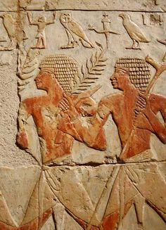 Temple of Queen Hatshepsut (El Deir El bahari), Luxor West bank, Egypt