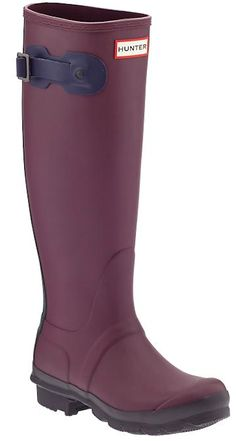 tall dark purple rain boots http://rstyle.me/~2Wpob