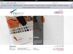 Our brand and website for InkSpot. Nice project to work on.