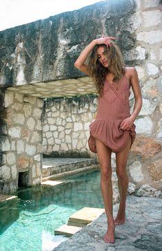 Amuse Society   La Playa Tranquila Amalie Lund Nilsson by Brydie Mack. Tulum. #amusesociety #tulum #coquicoqui