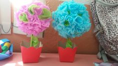 Flores de Papel Crepom 💐