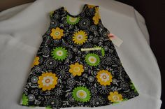 Summer is around the corner!  Your little princess would be super cute in this A line dress!