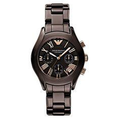 I love Emporio Armani watches