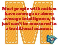 "Day 13 - Throughout April, we will share a letter a day from my acrostic poem ""April is Autism Awareness Month!"""