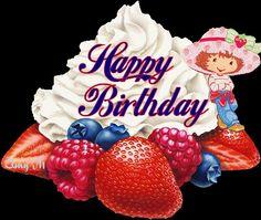 Glitter Graphics: the community for graphics enthusiasts! Happy Bday Pics, Happy Birthday Emoji, Send Birthday Card, Happy Birthday Woman, Happy Birthday Pictures, Happy Birthday Greetings, Birthday Board, Birthday Photos, Birthday Wishes