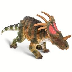 2018 Safari Dinosaur Styracosaurus Toy Model