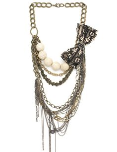 VICTORIAN REBEL  NECKLACE, STYLE NO. VN03S11