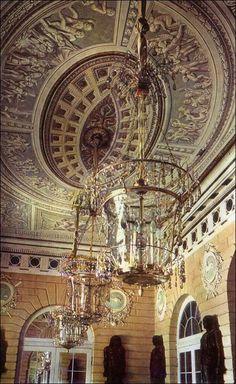 Egyptian Vestibule at Pavlovsk, Pavlovsk Palace & Park - Country Residence of the Russian Imperial Family