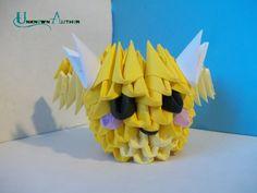 3D Origami - Mini Dragon by Jobe3DO on DeviantArt