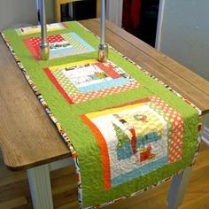what a great table runner!